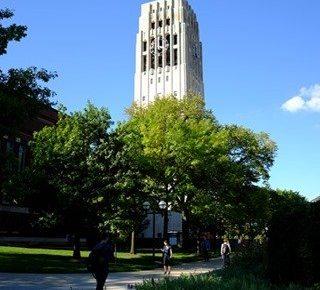 ミシガン大学アナーバーにキャンパスツアー行ってきた!