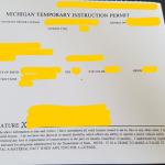 アメリカ運転免許の取り方①書類準備と筆記試験、仮免許の発行…ミシガン州編